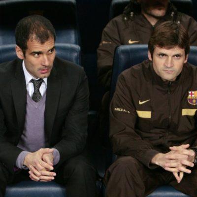 Guardiola y el Bayern Munich rinden homenaje al fallecido Tito Villanova