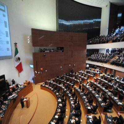 Avala Senado dar hasta 140 años de prisión a secuestradores