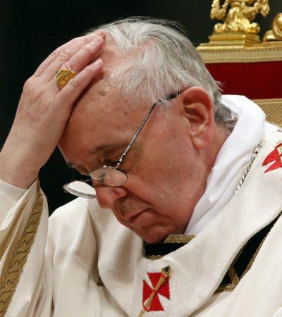 """""""CON LOS CHICOS NO SE JUEGA"""": Pide Papa Francisco perdón por abusos sexuales de sacerdotes contra niños"""