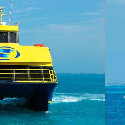 CHOCAN EMBARCACIONES FRENTE A PLAYA TORTUGAS: Ferry de Ultramar impacta a catamarán con 34 turistas y 3 tripulantes; 2 heridos, saldo en Cancún