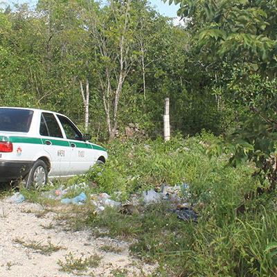 Aún no identifican a uno de los encajuelados del taxi en Cancún