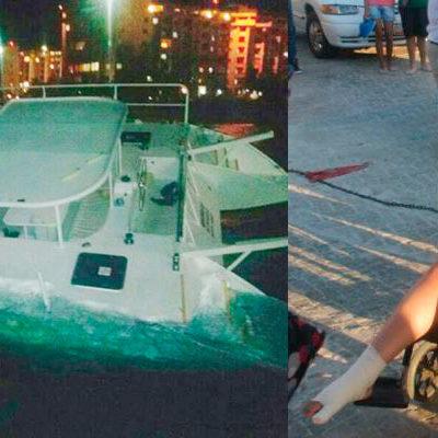 INVESTIGAN CHOQUE DE BARCOS: Declinan a favor del MP federal el impacto entre ferry de Ultramar y catamarán turístico frente a Playa Tortugas