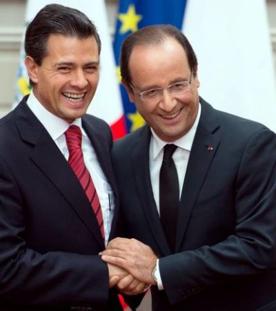 HOLLANDE EN MÉXICO: Presidente francés se reunirá con Peña Nieto pero no tocarán el polémico tema de Maude Versini