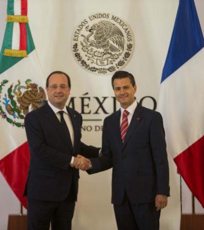 Tras el caso Cassez, acuerdan México y Francia relanzar su relación, pero resurge el reclamo de Maude Versini