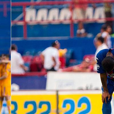 CABALGA EL POTRO… AL DESCENSO: Cae Atlante 2-0 ante los Tigres y sus esperanzas se extinguen