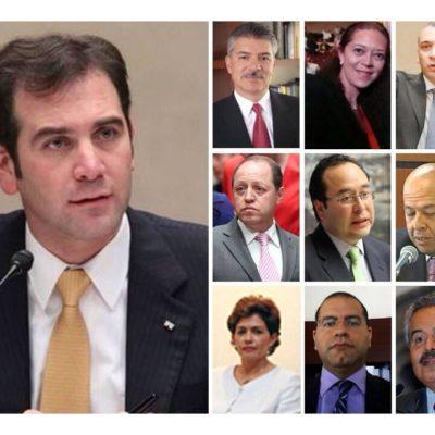 ELIGEN A CONSEJEROS DEL INE: Lorenzo Córdova Vianello presidirá el nuevo organismo electoral de México