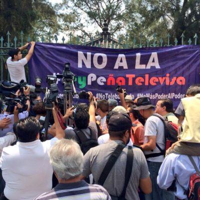 Destaca prensa de EU activismo en redes sociales para frenar Ley Telecom