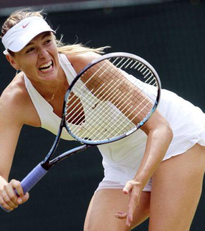 Por tercer año consecutivo, se corona Sharapova en Stuttgart