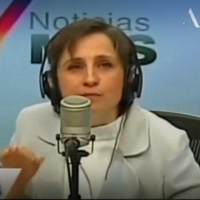 """""""CAMPAÑA SUCIA PROLONGADA"""": Denuncia la periodista Carmen Aristegui hostigamiento en su contra"""