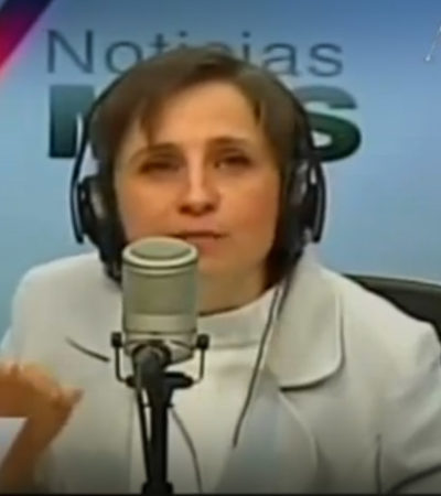 Es Carmen Aristegui la segunda mujer más poderosa de México, según Forbes