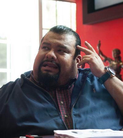 """""""NO MEREZCO ESTE TRATO"""": El destituido líder del PRI en el DF por escándalo de prostitución dice que lo quieren exorsionar"""