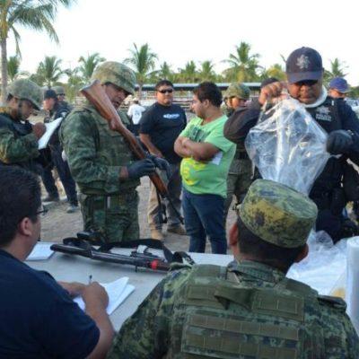 Comienza el desarme de las autodefensas en Michoacán