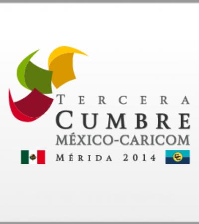 Inaugurarán en Mérida la III Cumbre México-Caricom y la VI Cumbre de la Asociación de Estados del Caribe