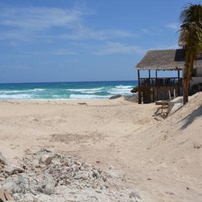 CONSTRUYEN ALBERCA SOBRE LA DUNA: Denuncia Citymar obras irregulares en el hotel 'Ventanas al Mar' en Cozumel