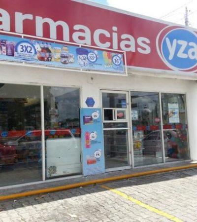 A LA ALZA, ATRACOS A COMERCIOS: Vuelven a robar en farmacia de la Región 91 sin que ladrón sea detenido