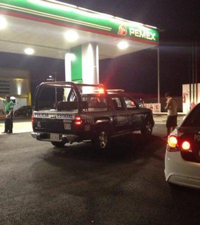 BALACERA EN CHETUMAL TRAS ASALTO: Se enfrentan policías a ladrones tras paupérrimo atraco a gasolinera; no hubo detenidos