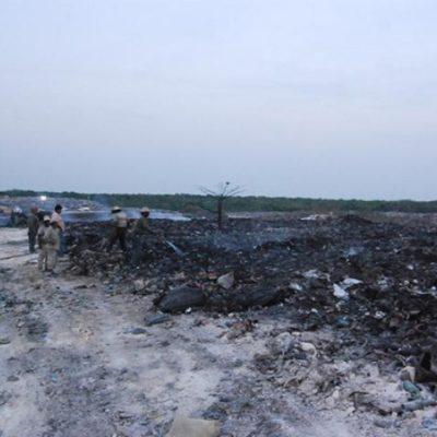Consumió incendio de basurero $500 mil de las arcas del Ayuntamiento de OPB