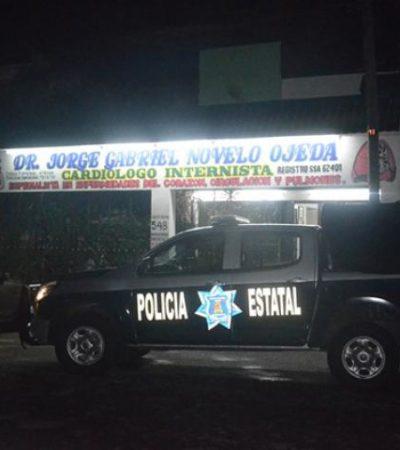 A punta de pistola, atracan consultorio médico en Chetumal