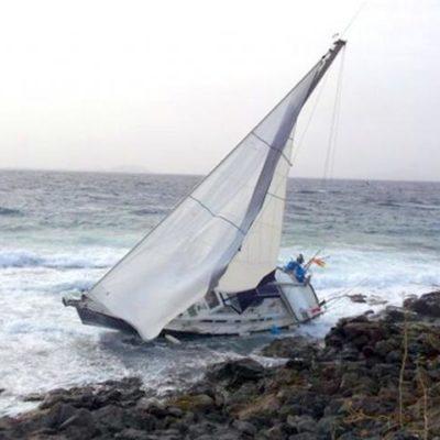 ENCALLA YATE EN XCALAK: Es el quinto accidente similar en 2 años