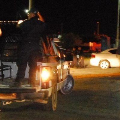 Ebrio policía amenaza a ciudadanos con su arma en Chetumal
