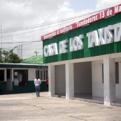 Total desinterés por sanear al sindicato de taxistas en Cancún, infiltrado por el narco