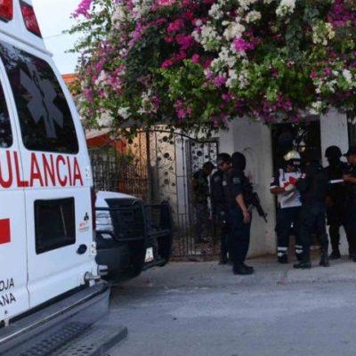 Aseguran fusiles de asalto en casa de seguridad en Playa del Carmen