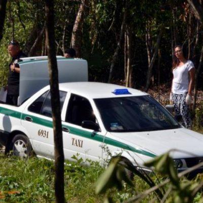 Ejecutados y encajuelados en un taxi en Cancún eran 'chapulines' operando en territorio de 'Los Pelones'