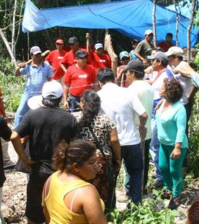 SE CALDEAN ÁNIMOS POR INVASIÓN: Una 'bomba de tiempo', el despojo de 1,800 hectáreas en Puerto Aventuras