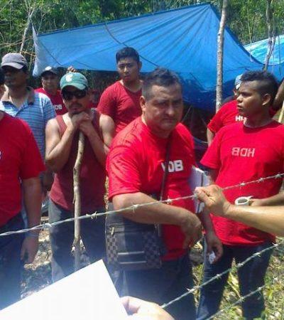 Pide Gobernador desalojo pacífico de predio invadido en Puerto Aventuras