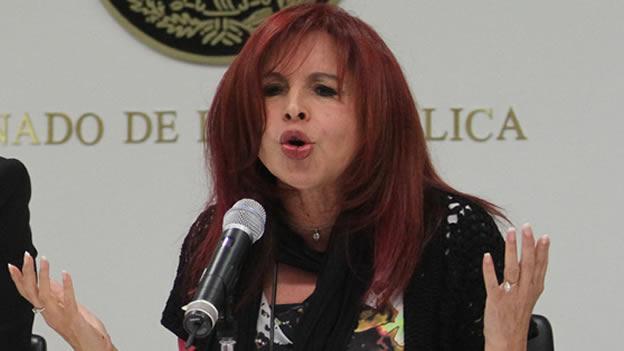 Se pasa al PT la senadora campechana Layda Sansores y se dice lista para buscar la gubernatura, otra vez