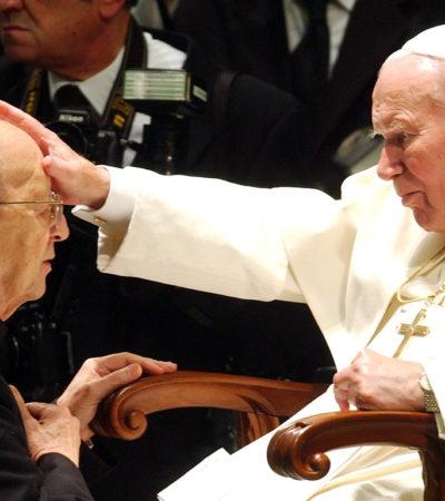 MARCIAL MACIEL, UNA 'MANCHA CORROSIVA': Desde 1948, El Vaticano conoció los excesos y el fraude del líder de Los Legionarios de Cristo y lo dejó seguir; Juan Pablo II, embarrado