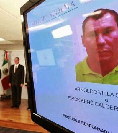 Capturan a Arnoldo Villa Sánchez, el segundo al mando de los Beltrán Leyva