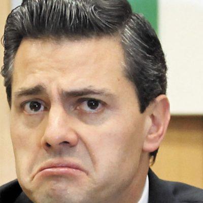 Advierten 'déficit permanente' en todo el sexenio de Peña Nieto