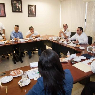 BUSCAN BLINDAR EL TIANGUIS: Reunión en IM para planear la seguridad del Tianguis Turístico en Cancún