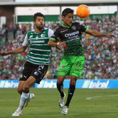 Remontada de Chiapas para vencer 3-2 al Santos en su propia casa