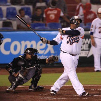 En dramática voltereta, vence Tigres 4-3 a Guerreros y aseguran la serie en Cancún