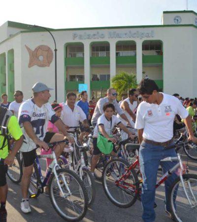 'CHETUMAL EN BICICLETA': Invierten 1.5 mdp para programa que promueve el uso del transporte en dos ruedas