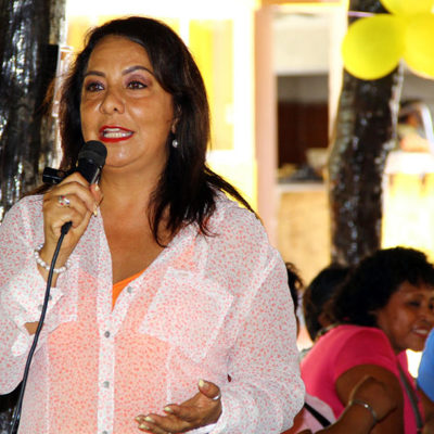 Programas sociales sólo benefician a militantes del partido que gobierna, denuncia Graciela Saldaña
