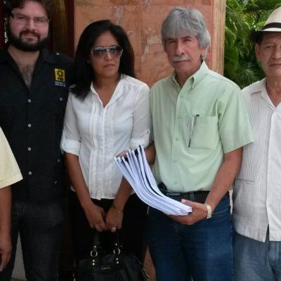 Presenta PRD amparo contra la Ley de Ordenamiento Cívico de Quintana Roo