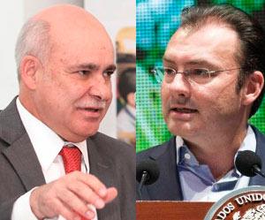 PURO OPTIMISMO EN CANCÚN: La economía no está en recesión, nomás estancada: Sojo; México está creciendo: Videgaray