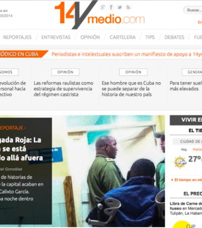 Lanza bloquera Yoani Sánchez periódico digital en Cuba y en su primer día denuncia bloqueo del gobierno castrista