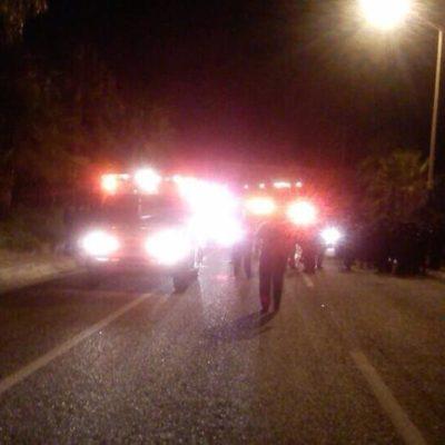 Atropellan a 5 federales que vigilaban la boda de 'El Niño Verde' en Los Cabos