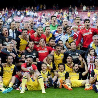 ¡ATLÉTICO DE MADRID, CAMPEÓN!: En la liga más reñida y tras empatar con el Barcelona, los hombres de Simeone conquistan la cumbre