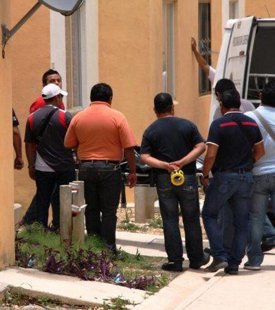EJECUCIÓN EN LA VÍSPERA DEL TIANGUIS: Amarrado de pies y manos y ensabanado, hallan cuerpo de joven en Villas Otoch Paraíso de Cancún