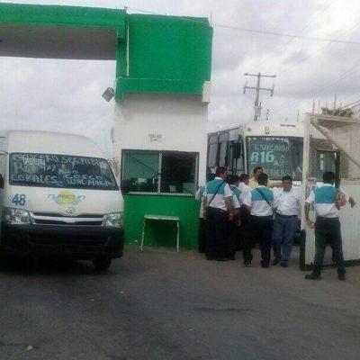LEVANTAN PARO EN TURICÚN: Tras 24 horas en huelga, choferes y sindicato alcanzan acuerdo para reanudar servicio en Cancún