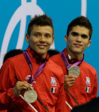MEXICANOS HACEN HISTORIA EN RUSIA: Clavadistas Iván García y Germán Sánchez ganan oro en Serie Mundial en Moscú