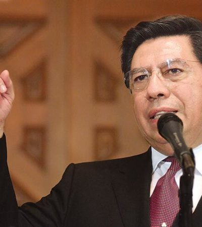 Por delincuencia organizada, giran orden de aprehensión contra Jesús Reyna, ex gobernador de Michoacán