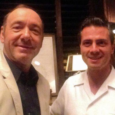 DE UN 'PRESIDENTE' A PEÑA NIETO: Se reúne el actor Kavin Spacey con mandatario en Cancún y las redes los parodian