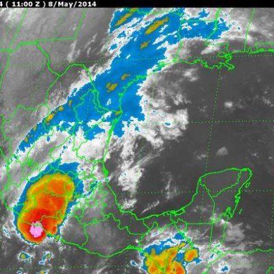 Advierten lluvias en el centro del país por posible ciclón en el Pacífico