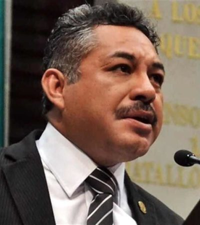 Balean en Chalco a diputado federal del PRD, Ramón Montalvo Hernández